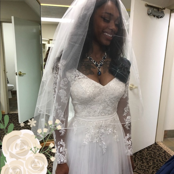 David\'s Bridal Dresses | Gorgeous Wedding Dress | Poshmark